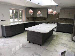 Kitchen Island Worktops - Inova Stone Slough