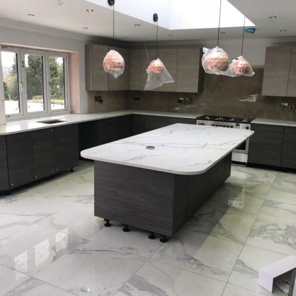 Kitchen Island Worktops - Inova Stone Slough
