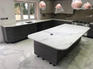 Kitchen Island Tops - Inova Stone Slough