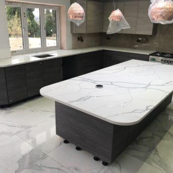 Kitchen Island Tops - Inova Stone Slough