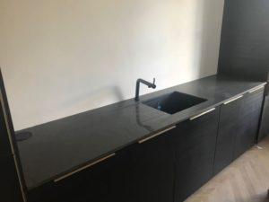 Black Kitchen Worktops