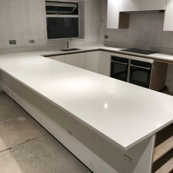 White Kitchen Worktops London