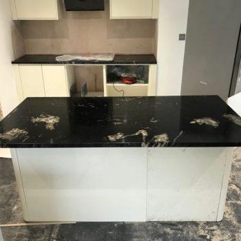 Black Kitchen Worktops London