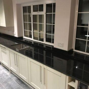 Black Kitchen Worktops