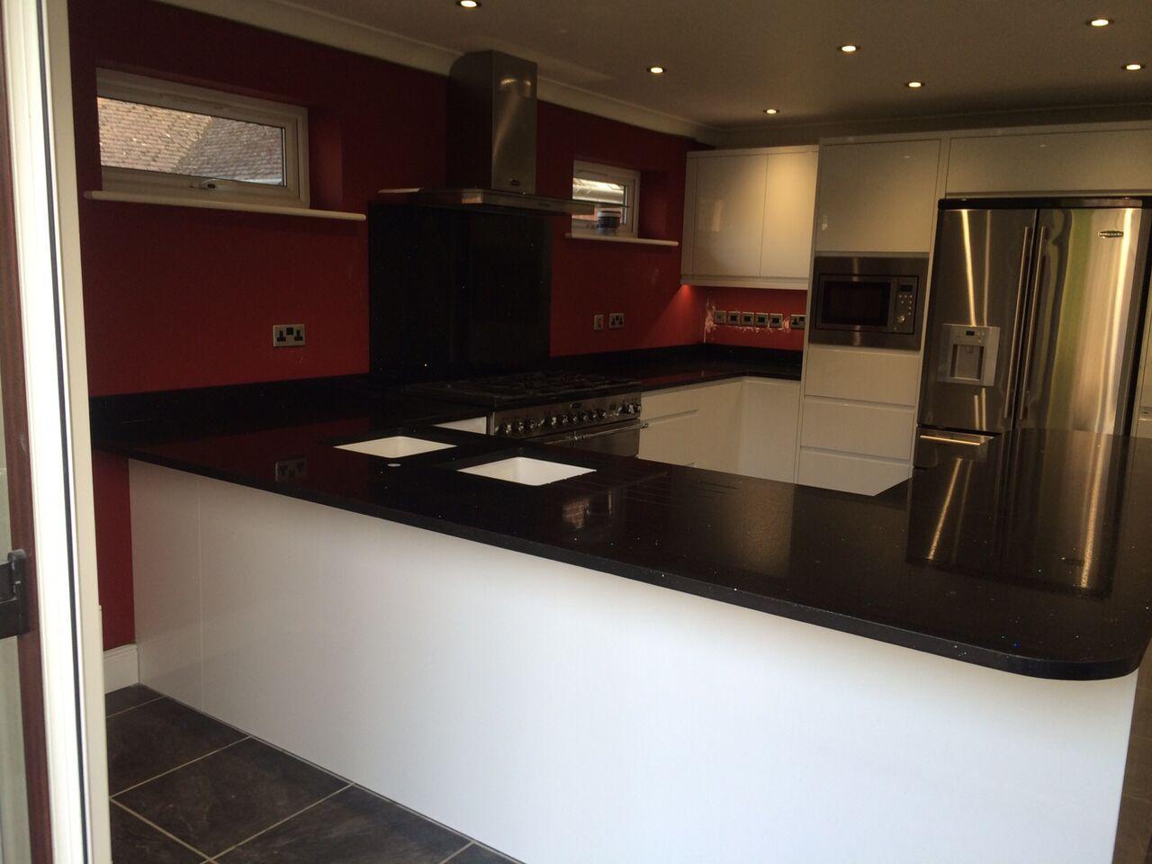 19 Pictures Kitchens With Black Worktops Lentine Marine