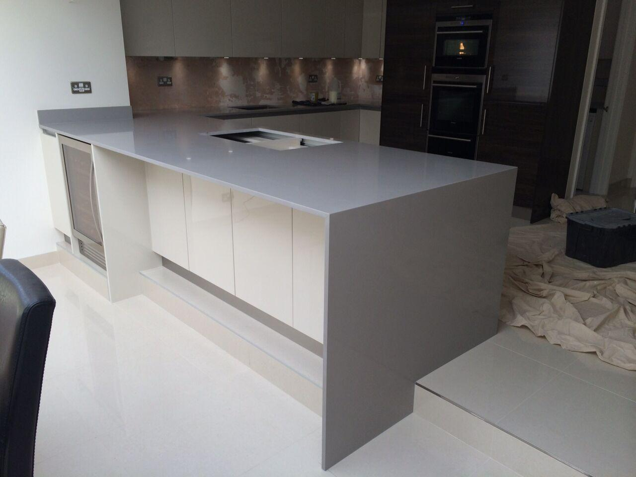kitchen worktops in slough london inovastones uk On kitchen quartz worktops