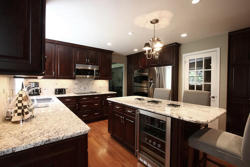 White Kitchen Countertops With Brown Cabinets kitchen cabinets ideas » white kitchen countertops with brown