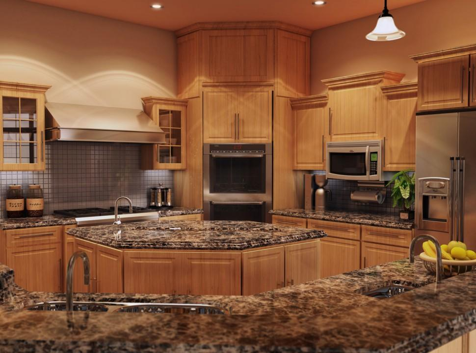 Best Granite Kitchen Countertops For Oak Cabinets Inovastone