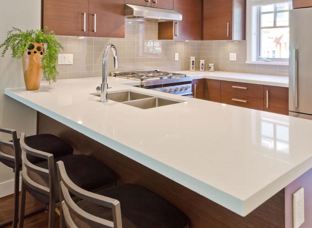 quartz kitchen countertops pros cons inovastone. Black Bedroom Furniture Sets. Home Design Ideas