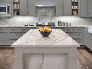 Marble Effect Quartz Worktops