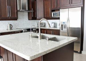 White Granite Worktops – Supply & Installation