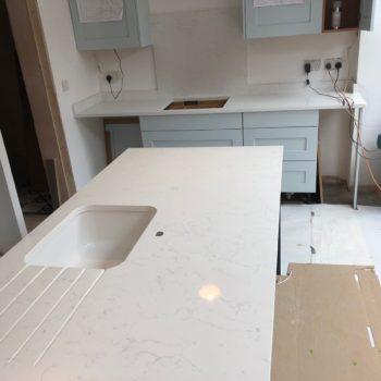 Kitchen Quartz Sink Worktops
