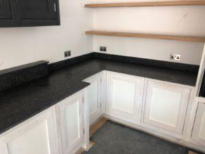 Black Kitchen Quartz Worktops