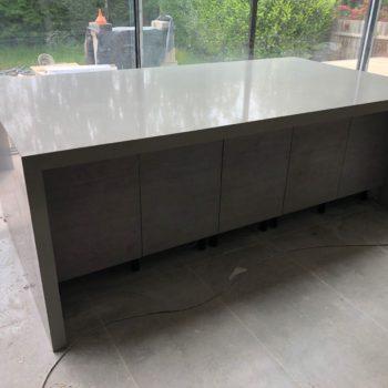 Dark Grey Kitchen Worktops