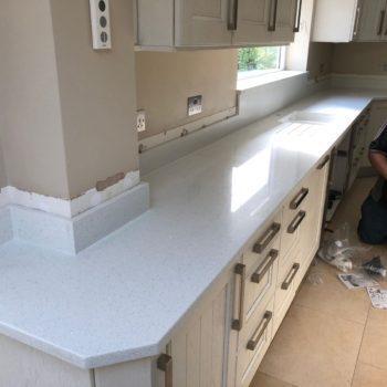 Made to Measure Kitchen Quartz Worktops