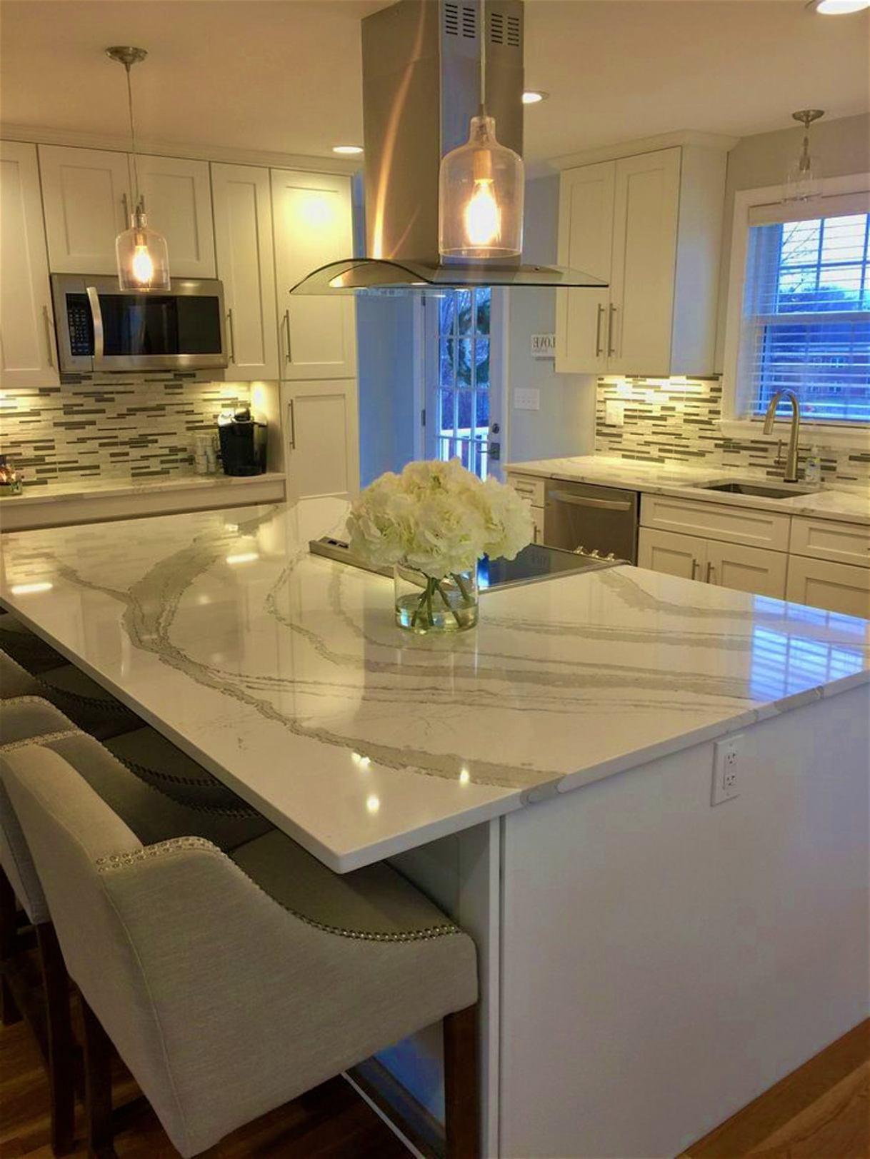 Light Grey Quartz Kitchen Worktops Pros Amp Cons Inovastone